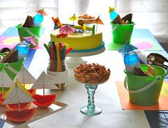 Creating a Decor Splash - Splash Party Activities - Articles- SavvyMom.ca
