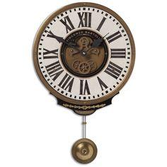 Uttermost Vincenzo Bartolini Cream Wall Clock 06021