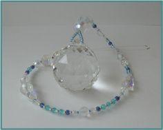 Fensterschmuck - Feng Shui 4cm-Regenbogen-Kristall Suncatcher - ein Designerstück von die-deko-werkstatt bei DaWanda