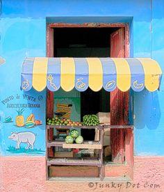 Punto de Venta - Agricultura Urbana,  Trinidad Cuba