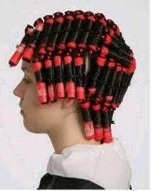 Daddy I Love the Way you put my curlers in  I'm going to b a Pwetty daddy' boi