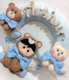 Guirlanda baby ursinho ♥
