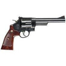 Smith & Wesson model 29 handgun.  The .44 magnum, great for hunting, carry some .44 special loads and a great protection handgun.