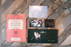eclectic unique invitations
