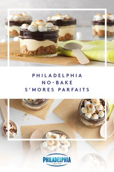 Back in the day, folks ate s'mores while wearing jeans and T-shirts around a campfire. Here's the black-tie version—served parfait-style. Mini Desserts, No Bake Desserts, Just Desserts, Delicious Desserts, Yummy Food, Fall Recipes, Snack Recipes, Dessert Recipes, Cooking Recipes