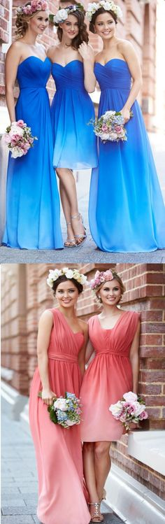 Bridesmaid Dresses Blue, Royal Blue Bridesmaid Dresses, Long Chiffon Bridesmaid Dresses, Long Bridesmaid Dresses, Blue Bridesmaid Dresses, Chiffon Bridesmaid Dresses, Royal Blue dresses, Long Chiffon dresses, Sleeveless Bridesmaid Dresses, Zipper Bridesmaid Dresses, Ruffles Bridesmaid Dresses