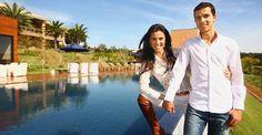 nilmar honorato e laura - Conheça 35 luxuosas e modernas piscinas dos famosos