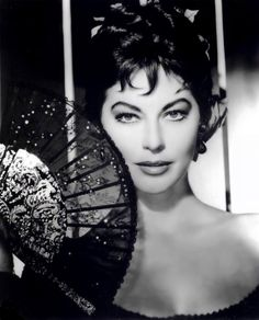 Ava Gardner....my all time favorite! Let's face it....they don't make movie stars like this anymore.
