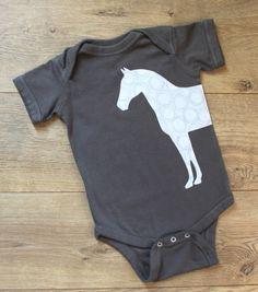 Horse Bodysuit https://www.etsy.com/listing/469857247/horse-bodysuit-horse-baby-clothes-horse?ref=shop_home_active_10 Baby Bodysuit, Baby Clothes