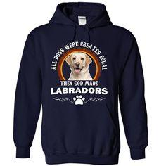 The God Made Labrador Retrievers - White