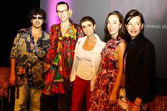 Ricardo de Castro, Dudu Bertholini, Lilian, Pamela Golbin e Cynthia Rowley discutem arte e moda no Move! - vem ver