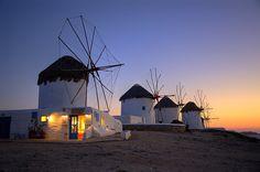 BIG    Los famosos molinos de Mikonos BIG Molinos en Mykonos