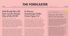 The Forecaster Interactive - Site of the Day November 18 2015