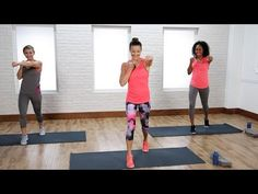 Blast calories with this no-equipment cardio workout that will have your full body working! POPSUGAR Fitness offers fresh fitness tutorials, workouts, and . Watch and read more about FITNESS & WEIGHT LOSS Sport Fitness, Body Fitness, Fitness Tips, Fitness Exercises, Fitness Goals, Cardio Training, Strength Training, Weight Training, Cardio At Home