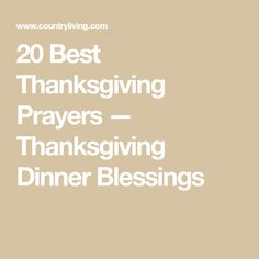 Show Your Gratitude Before Thanksgiving Dinner With These Touching Prayers