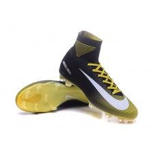 best website e657e c7594 Nike Mercurial Superfly V FG Yellow White-Black cheap football shoes Cheap  Football Shoes,
