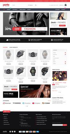 20+ eCommerce Wordpress & Magento Themes