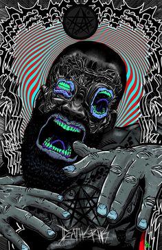 My 2nd DG Fan Poster (OC) - Death Grips