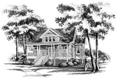 18 Small House Plans: Silverhill, Plan #749
