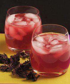 Agua de jamaica con jengibre y limón | Cocina y Comparte | Recetas