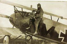 World War One German Aviator Ltn. Karl Menckhoff of Jasta 3 and later Jasta 72 by San Diego Air & Space Museum Archives, via Flickr