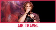 Tim Hawkins - watch the one on air travel or the one on Ipods & cassette tapes....