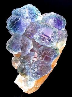 Rainbow Fluorite is just bands of different colours. Photo by Joanne Dusatko Forget rubies, garnets and sapphires. Fluorite may be t...