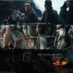 Pirates of the Caribbean dead men tell no tales Disney Love, Disney Magic, Captain Salazar, Pirate Life, Film Quotes, Love Movie, Pirates Of The Caribbean, Disney And Dreamworks, Johnny Depp