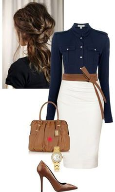 Fashion work outfits for women.............