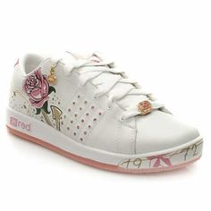 Ecko Red Phranz Casual trainer in a skate shoe style from Ecko Red. Leather upper which has a diamante covered lace plate showing off the famous rhino, 4 rows of colourful diamante on both sides and some of the coole http://www.comparestoreprices.co.uk/womens-shoes/ecko-red-phranz.asp
