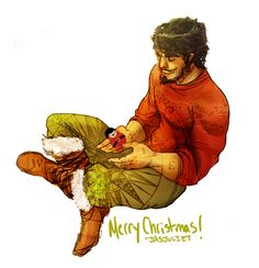 Young North, of ROTG! Merry Christmas! by jasjuliet.deviantart.com