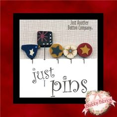Just Pins Australia Patriotic Set: These darling handmade pins come from Just Another Button Company. This set features five patriotic pins including one Australian flag pin.
