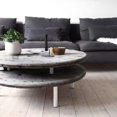 DIY kabeltromle sofabord    Katarina Natalie