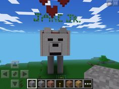 This is Jake! He was a dog in Minecraft and he was AWESOME
