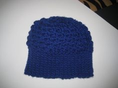 Comfy Soft Slouchy Royal Blue Winter Hat by CrochetandMacrame, $9.99