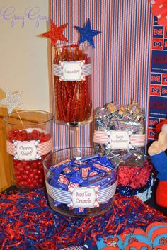 Ole Miss/Hot Damask Graduation/End of School Party Ideas | Photo 3 of 19 | Catch My Party