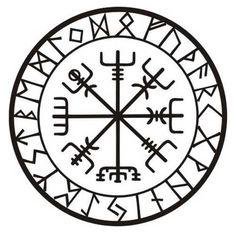 Diese Rune ist bekannt als Vegvisir, Isländisch für Wegweiser und manchmal auch als der Viking-Kompass. Diese magischen Charme soll Führer den Weg zu helfen, ohne verloren zu gehen. Dies ist von allen 24 Zeichen der Elder Futhark umgeben. Dieser Aufkleber misst 3 1/2(8,89 cm) im Durchmesser und eine schwarze professionelle Zeichen Qualität Vinyl mit einer siebenjährigen garantiert für den Außeneinsatz an einer senkrechten Fläche schneiden (wobei kein Hintergrund) stammt. Bei richtiger A...