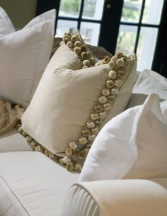 Joy Tribout Interior Design - great use of trim