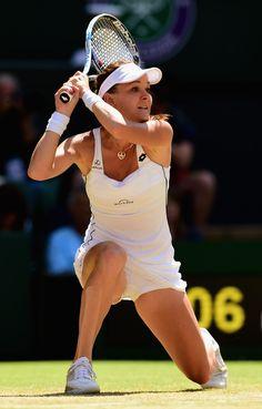 Agnieszka Radwanska Photos: Day Ten: The Championships - Wimbledon 2015