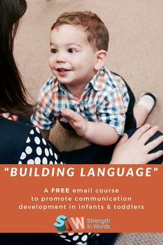 How Do I Build My Infant or Toddler's Language Skills? We can help with our new free course. As a pediatric speech-language pathologist with a focus on infants and toddlers, and as a mother of both an infant and a toddler, I'm in a unique position to offer some guidance when it comes to communication development.  I'm developing a free course for families interested in learning more about simple, quick, and easy ways to build language by working communication opportunities into those daily…