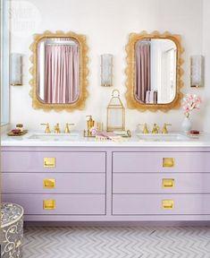 Painting Bathroom Cabinets, Bathroom Furniture, Bathroom Canvas, Bad Inspiration, Bathroom Inspiration, Design Blog, Home Design, Design Ideas, Bathroom Interior Design