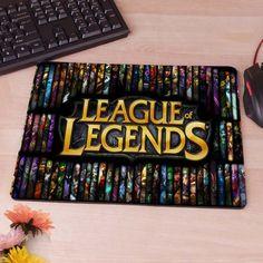 League of Legends Junglers Computer Mouse Pad Mousepads Decorate Your Desk Non-Skid