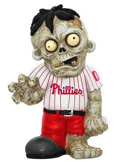 Philadelphia Phillies Zombie Figurine