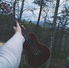 Photo by Anna Markell Instagram_inspiration_artsy_photography_tumblr_ukulele_music_mountain_NC_afterlight_iphone_6