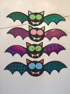 Einladung Hexenparty Gruselparty Halloween Fledermaus Dracula Holographiefolie Jungs Mädchen Hexe Basteln diy Geburtstag Geburtstagsfeier Geburtstagseinladung