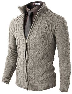 Mens Casual Knitted Twisted Patterned Zip-up Cardigan Smart Pinner Gentleman Mode, Gentleman Style, Sharp Dressed Man, Well Dressed Men, Stylish Men, Men Casual, Casual Outfits, Fashion Outfits, Mens Attire