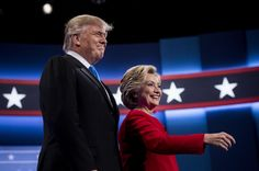 Trump says he may hit 'harder' in next debate; Clinton hammers back with web spot