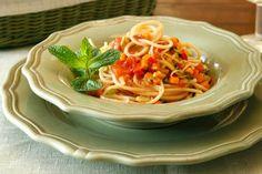 Μακαρονάδα με σάλτσα λαχανικών - Συνταγές | γαστρονόμος