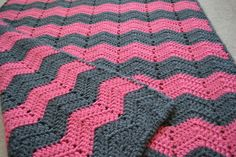 CLEARANCE Soft and Warm Chevron / Ripple / Wave by TMedlockDesign, $45.00