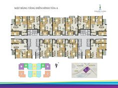 Mặt bằng tòa A Thăng Long number one Amazing Architecture, Architecture Design, Architectural Floor Plans, Apartment Floor Plans, Family House Plans, Layout, House Design, How To Plan, Mansions